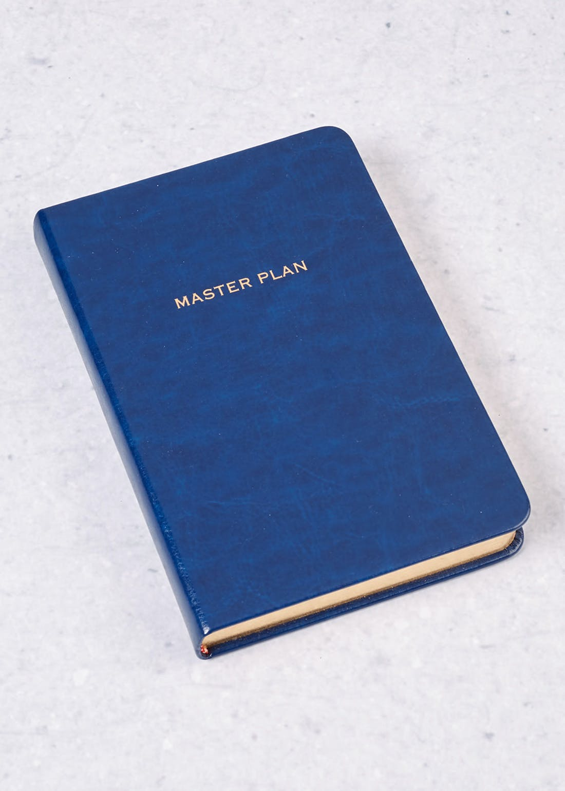 Master Plan Slogan Notebook (17cm x 12cm x 2cm)