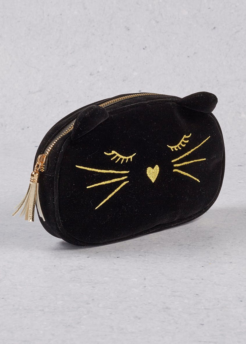 Cat Makeup Bag (23cm x 15cm x 5cm)
