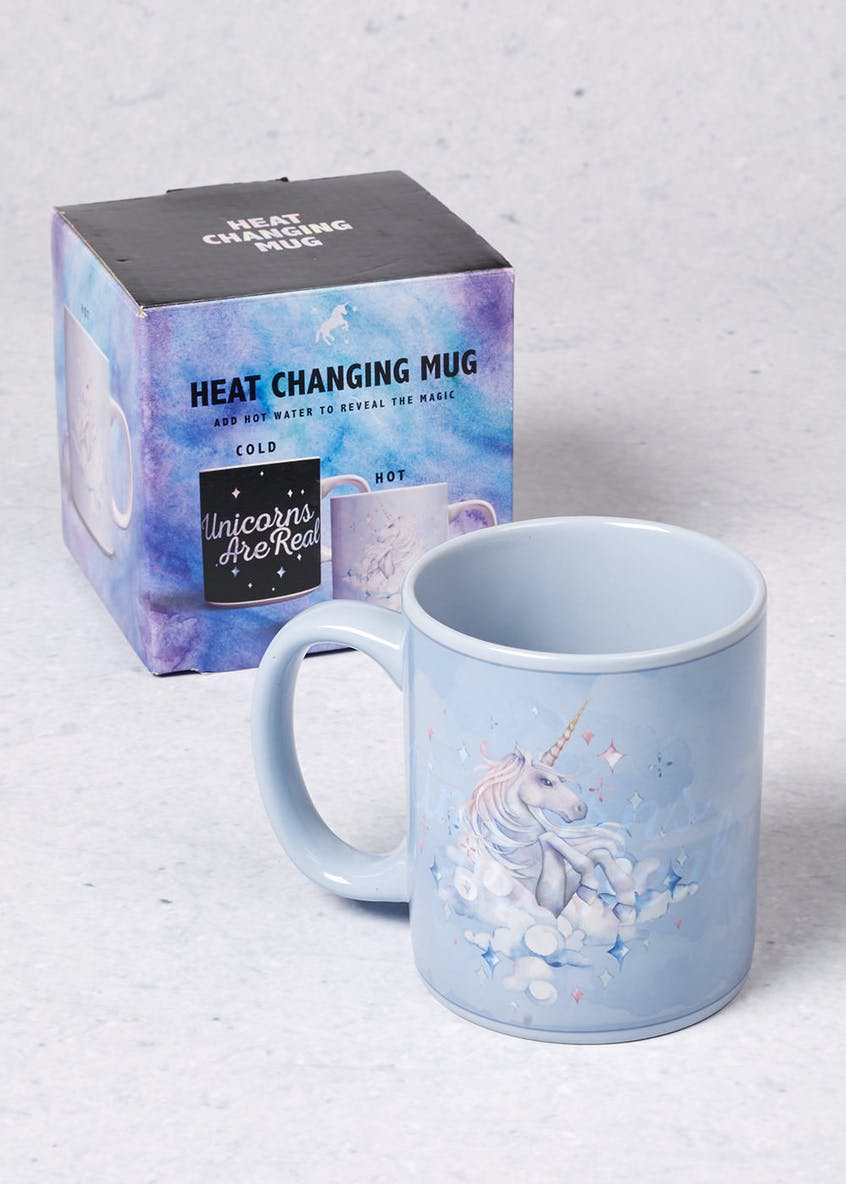 Unicorn Heat Changing Mug (11cm x 11cm)