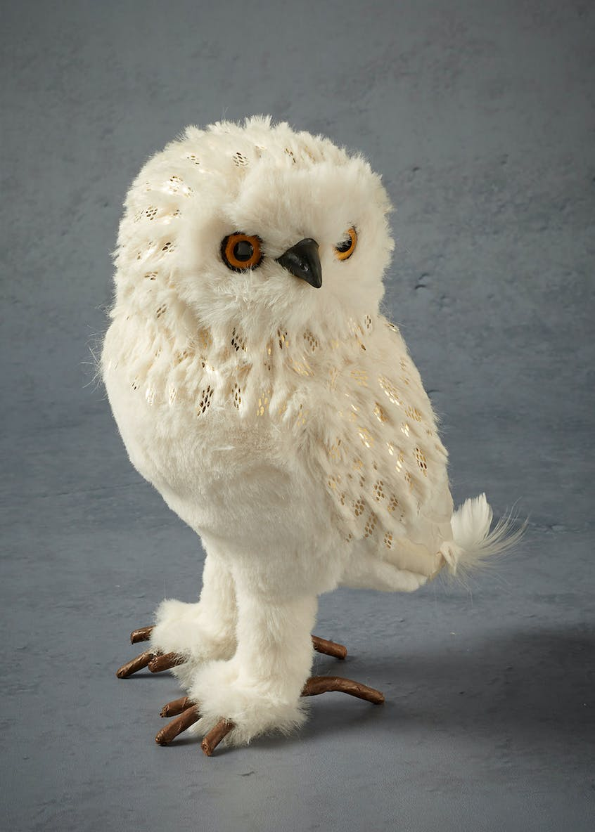 Large Owl Christmas Decoration (20cm)