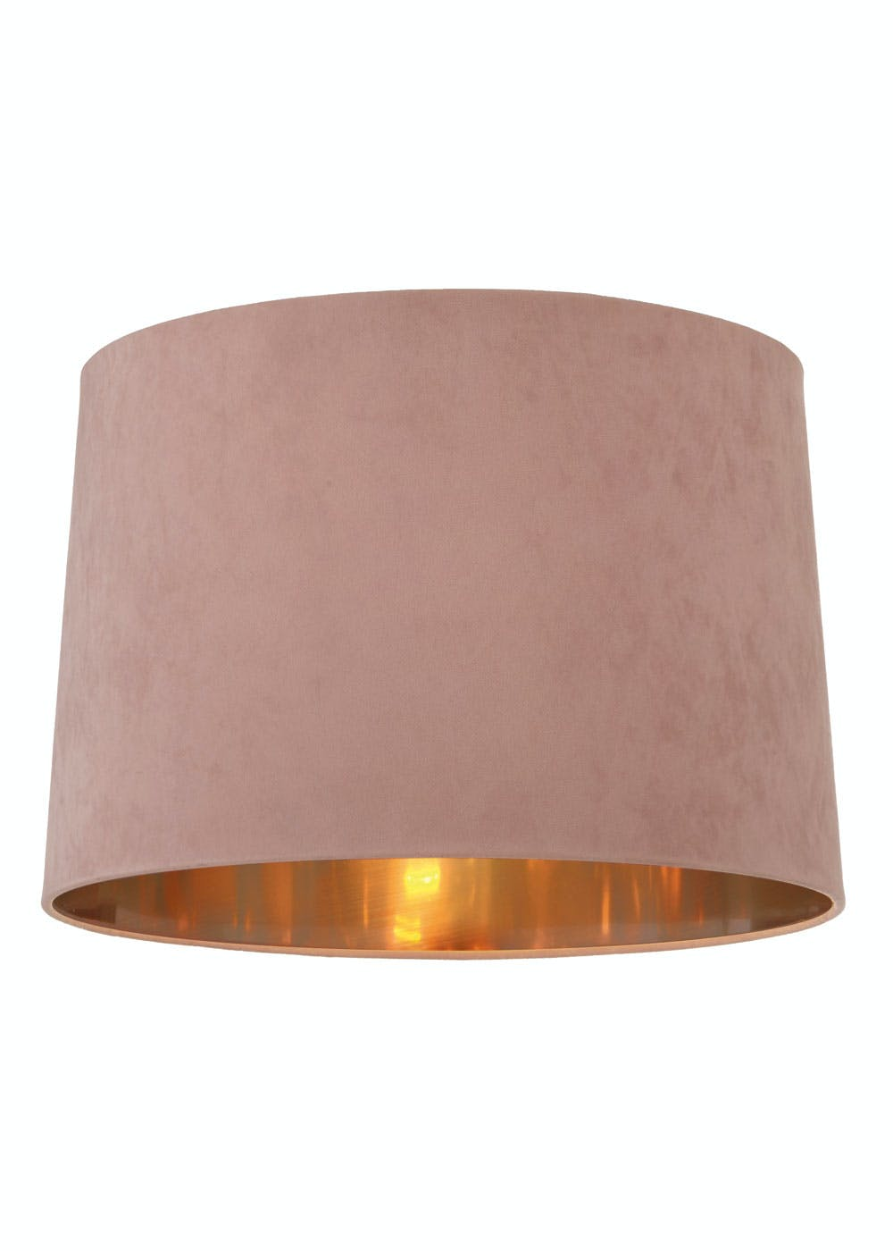 Ada Velvet Drum Easy Fit Lamp Shade H23cm X W36cm