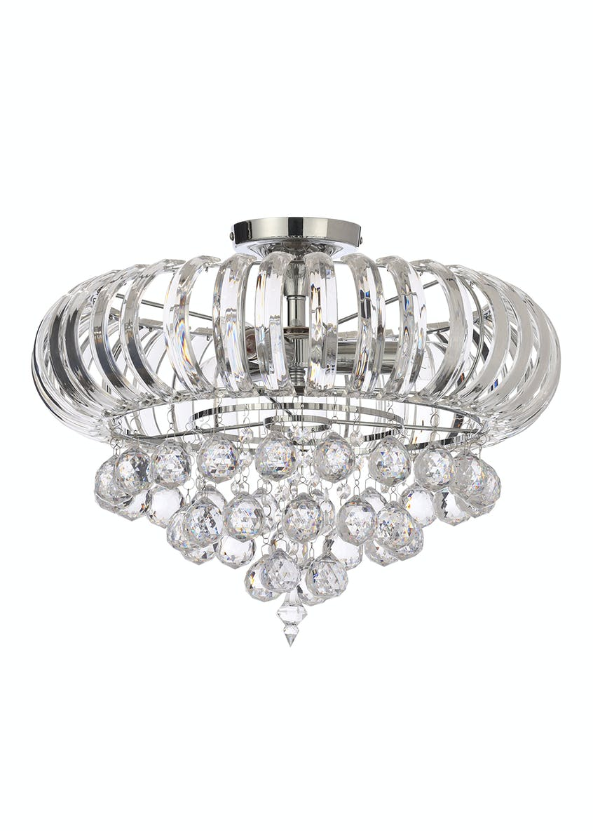 Delilah Flush Ceiling Light (H36.5 x W46cm)