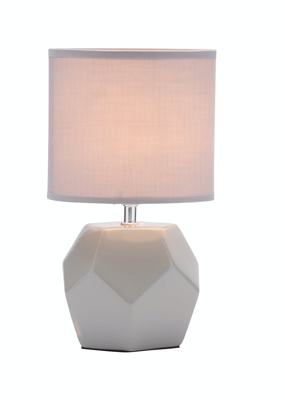 Nordic simple orb clear glass pendant lighting Xqy Living Geometric Ceramic Table Lamp h30cm W17cm Zanui Lighting Great Quality Lighting Products For Every Room Matalan