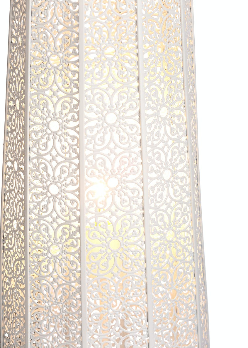 Alice Fretwork Floor Lamp (H110cm x W25cm)