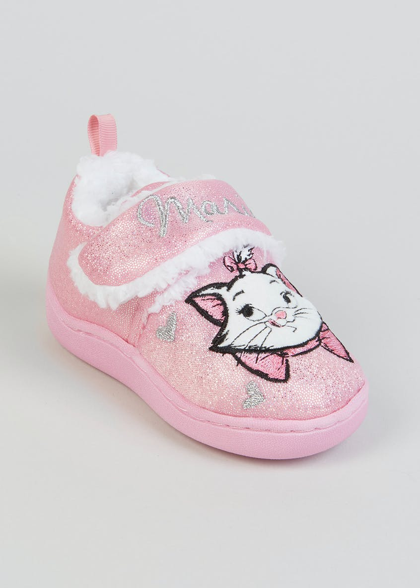 Kids Disney The Aristocats Marie Co-Ord Slippers (Younger 4-9)