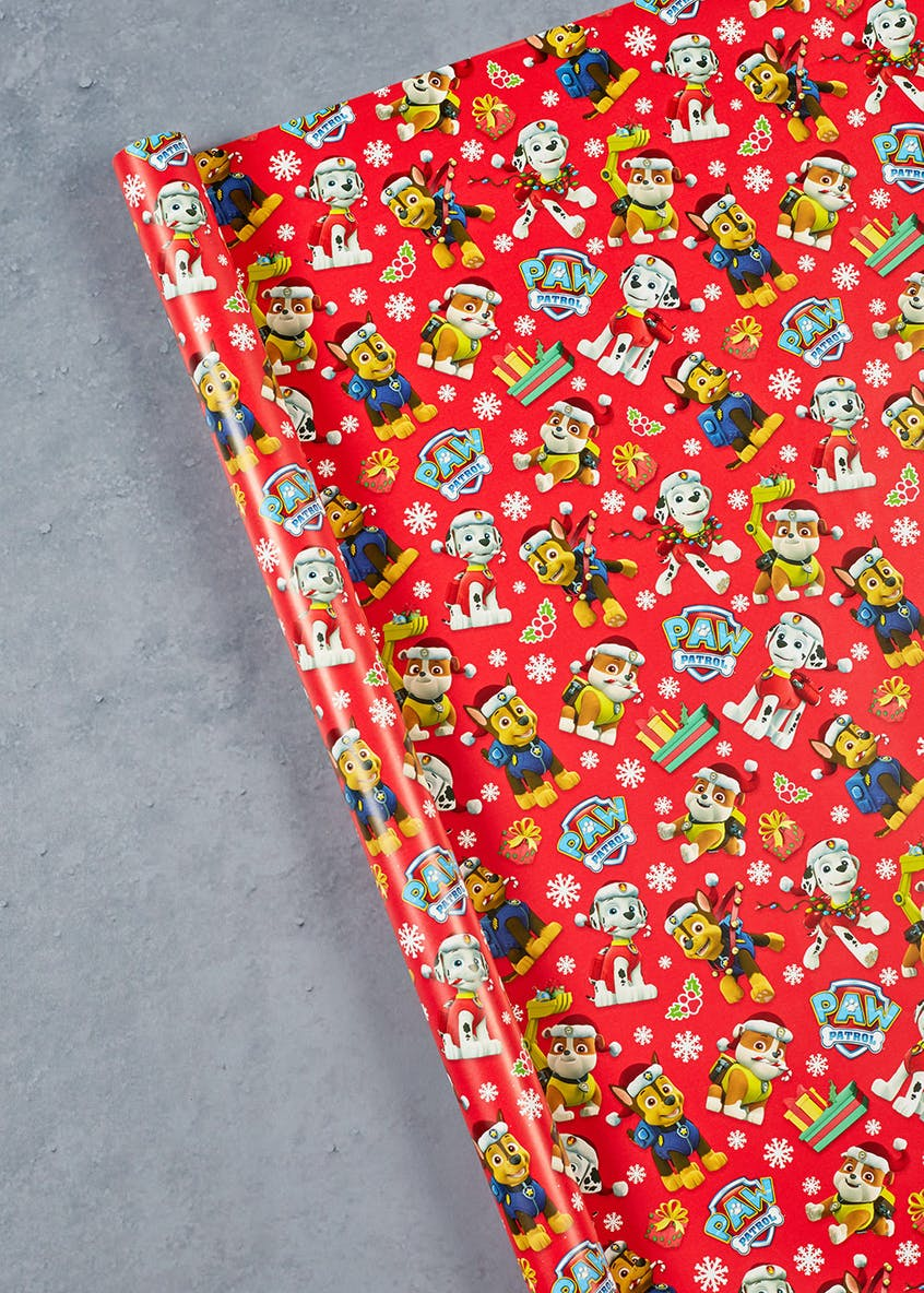 Paw Patrol Christmas Wrapping Paper (4m)