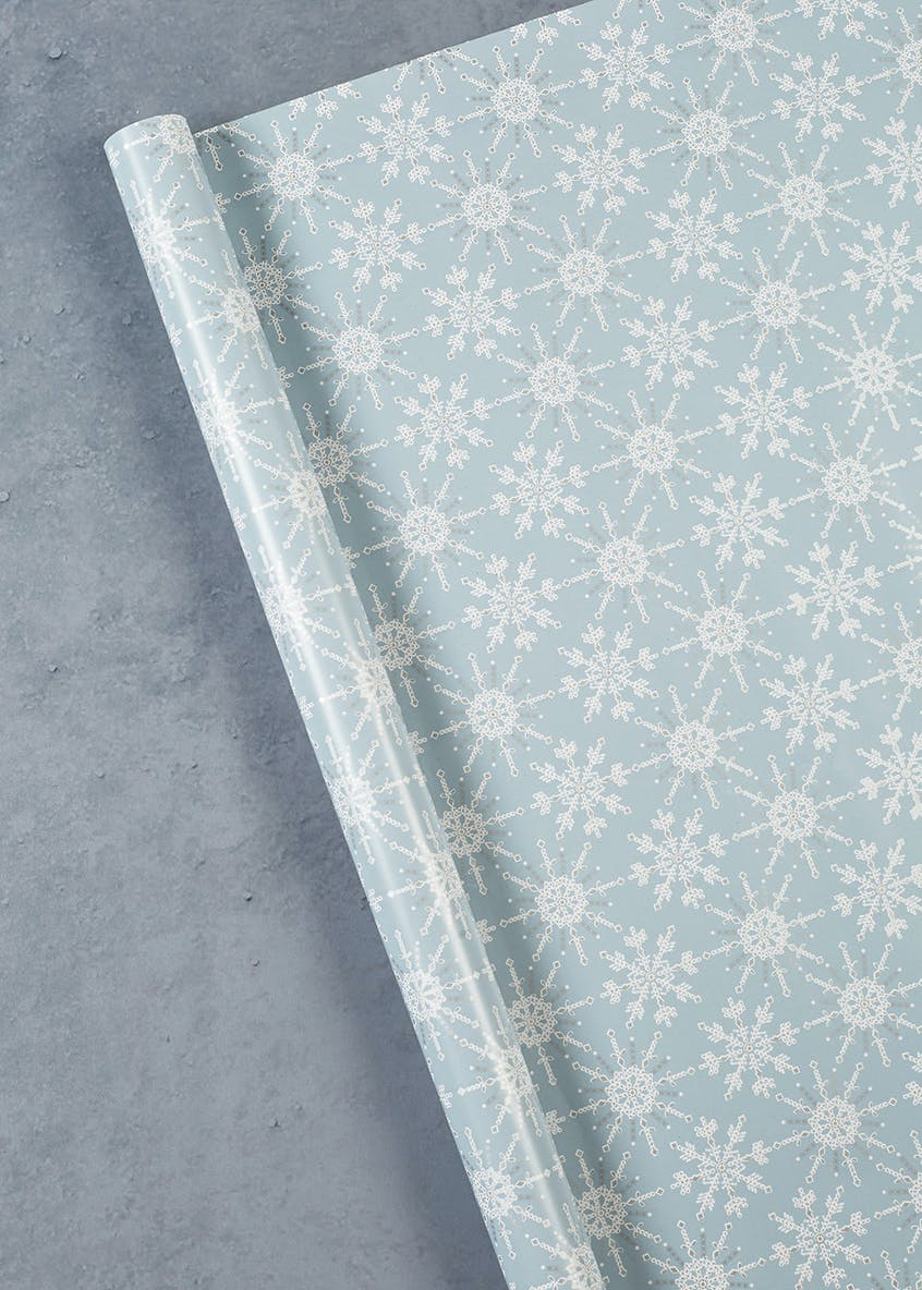 Snowflake Christmas Wrapping Paper (4m)