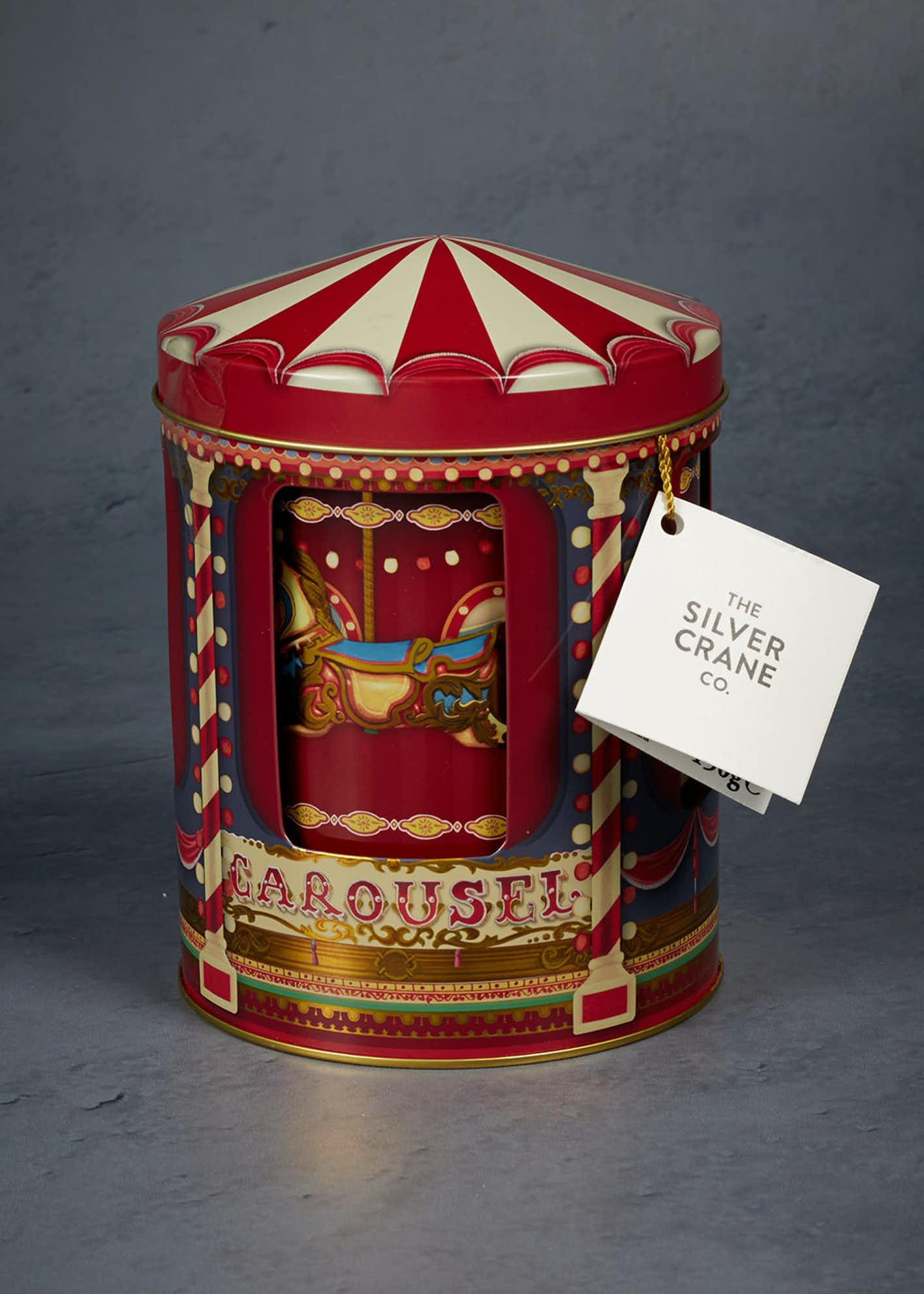 Musical Carousel Chocolate Chip Cookies Tin (150g)
