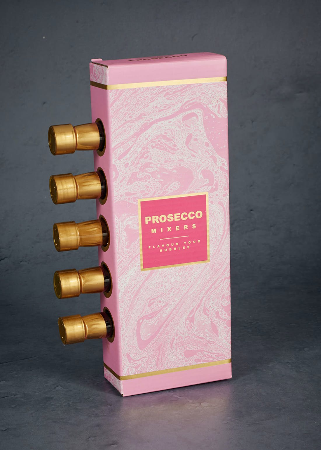 5 Pack Flavoured Prosecco Toppers (70ml)