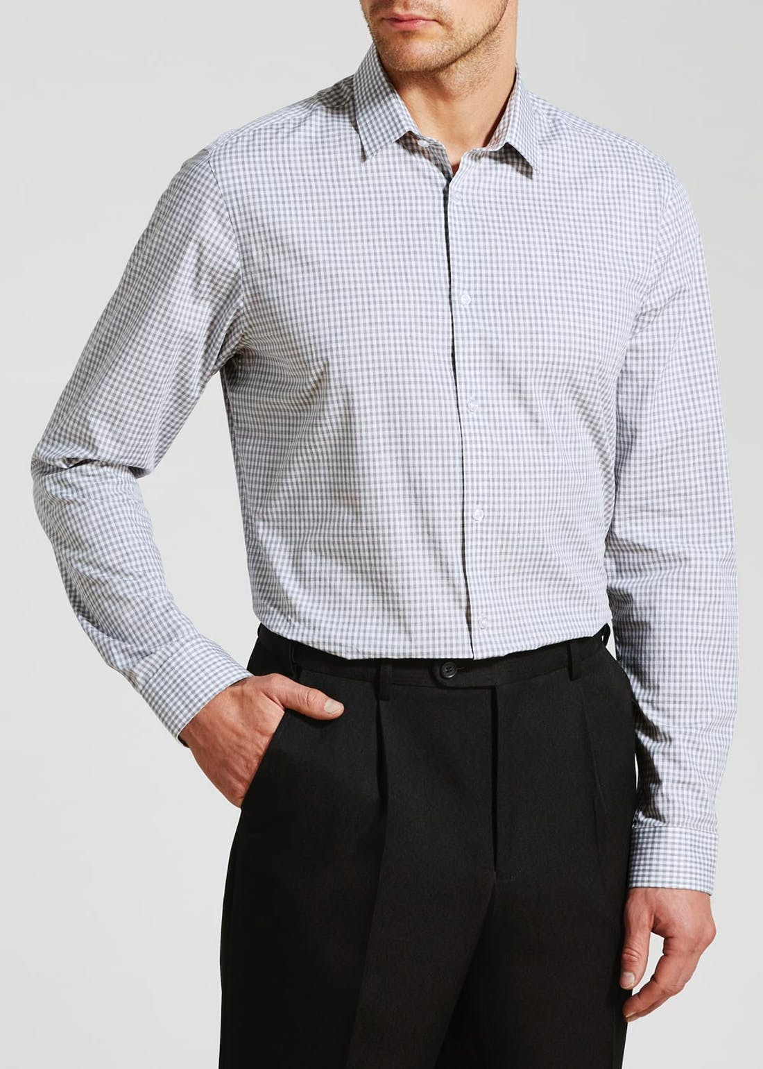 100% Cotton Slim Fit Gingham Shirt