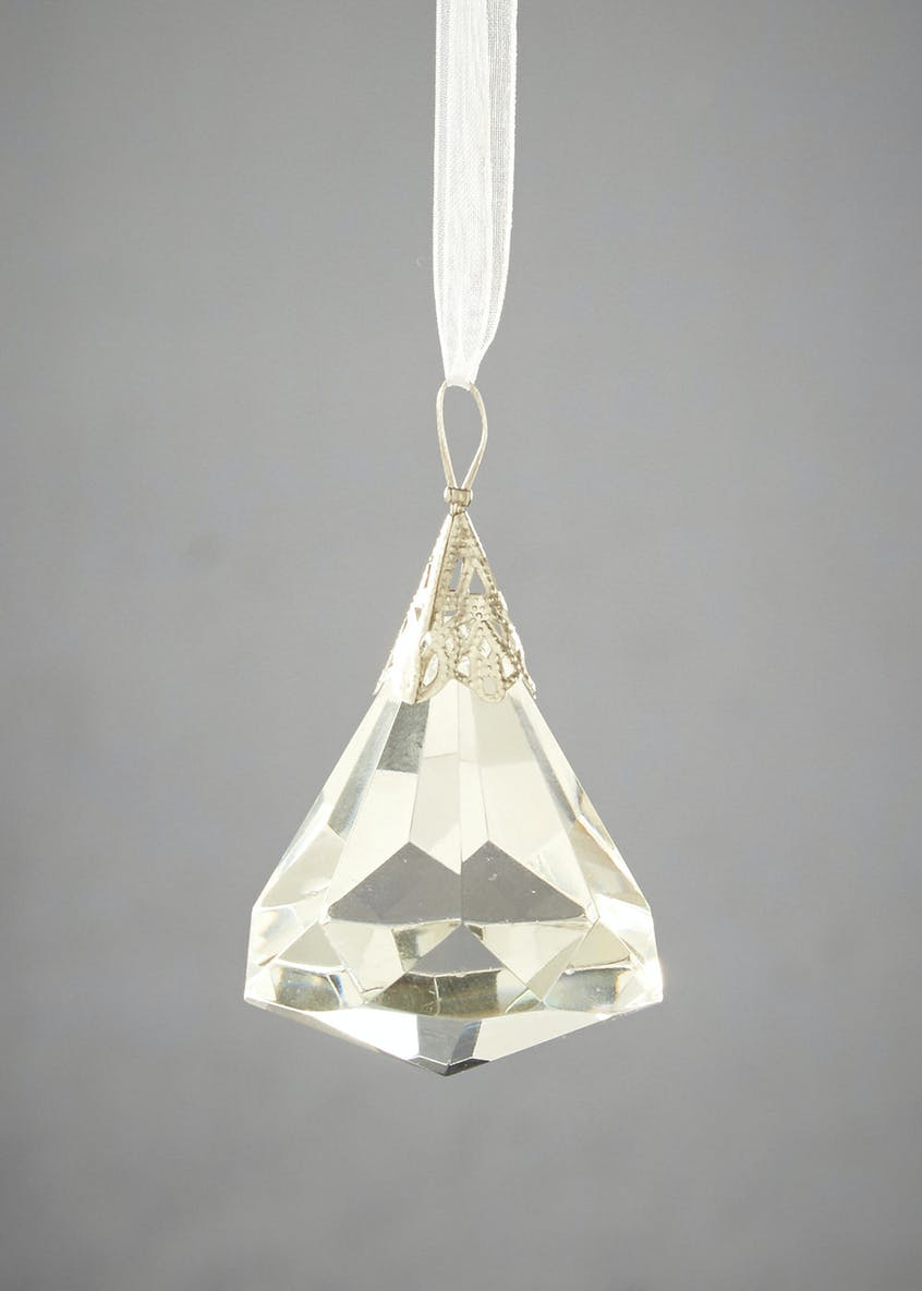 Diamond Christmas Tree Decoration (5cm)