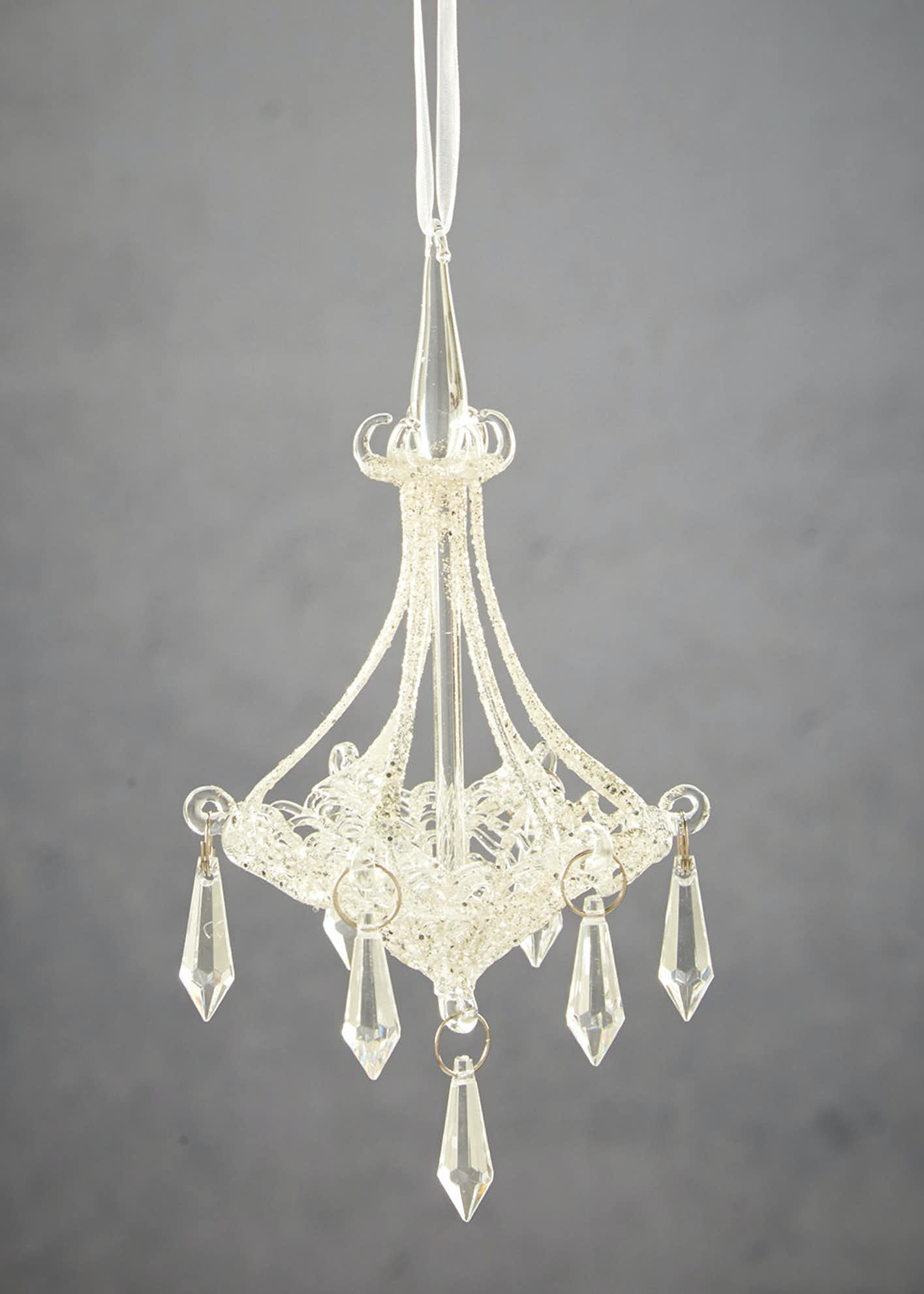 Chandelier Christmas Tree Decoration (15cm x 10cm)