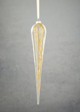 Glitter Twigs Icicle Christmas Tree Decoration (28cm)