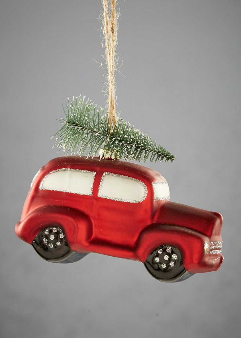 Car Tree Christmas Tree Decoration (13cm)