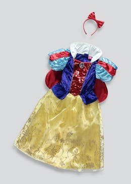 Kids Disney Snow White Fancy Dress Costume (3-9yrs)