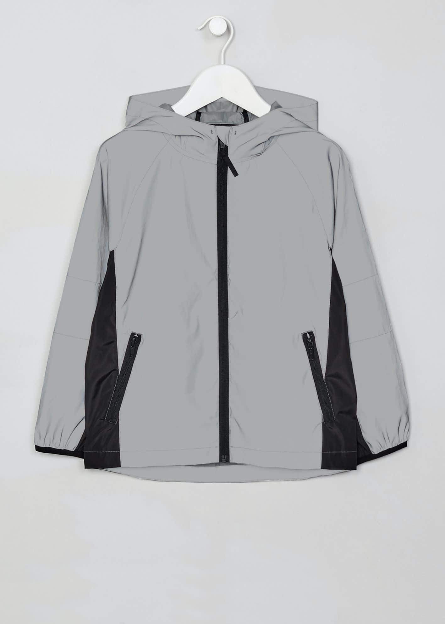 Boys Reflective Lightweight Jacket (4-13yrs)