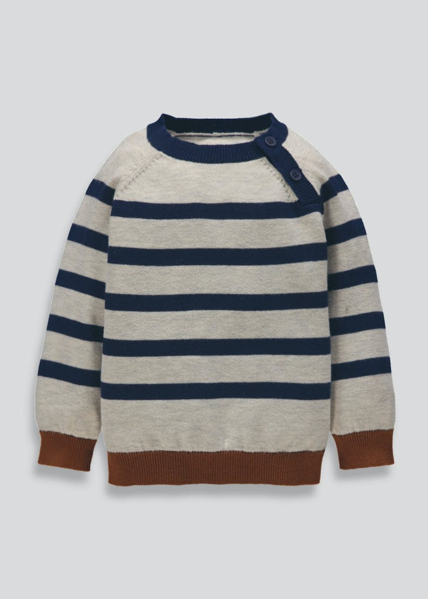 Boys Stripe Jumper (3mths-6yrs)