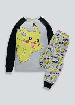 Kids Pokémon Pikachu Pyjama Set (5-12yrs)