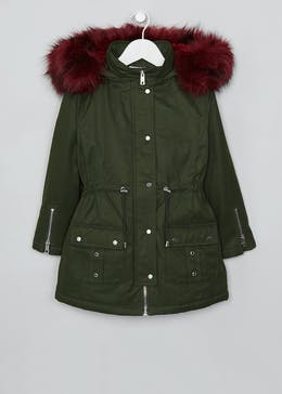 Girls Parka Coat (4-13yrs)
