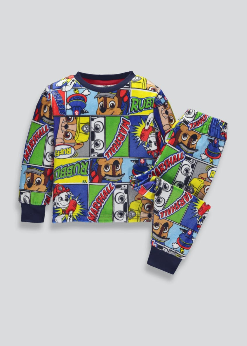 Kids Paw Patrol Fleece Pyjama Set (12mths-6yrs)