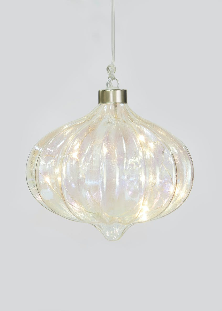 Hanging LED Iridescent Shape (15cm)