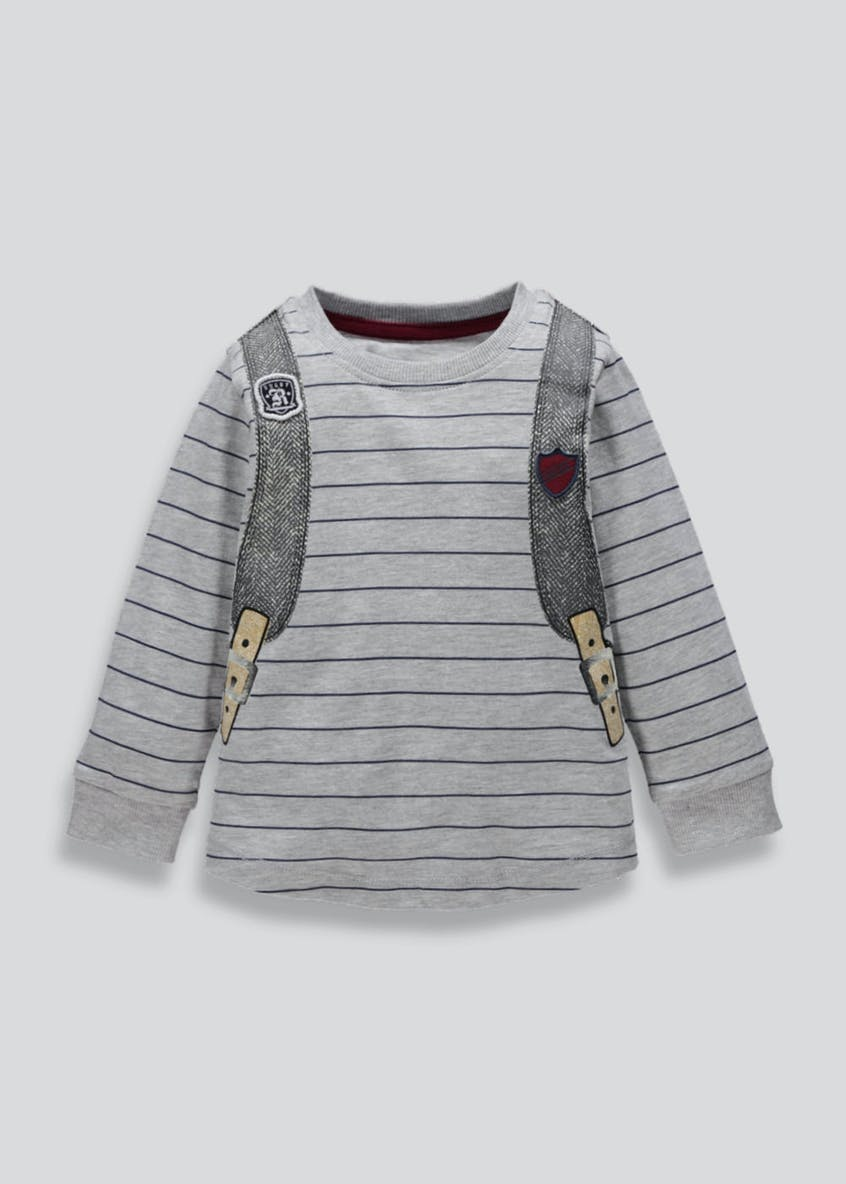 Kids Backpack Long Sleeve T-Shirt (3mths-5yrs)