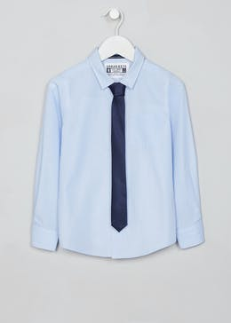 Boys Occasion Shirt & Tie Set (4-13yrs)