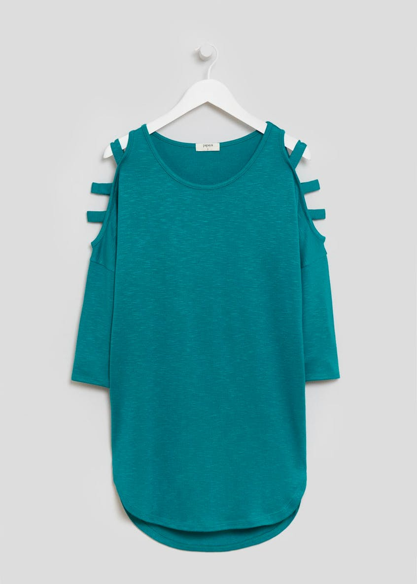 Oversized Cold Shoulder Top