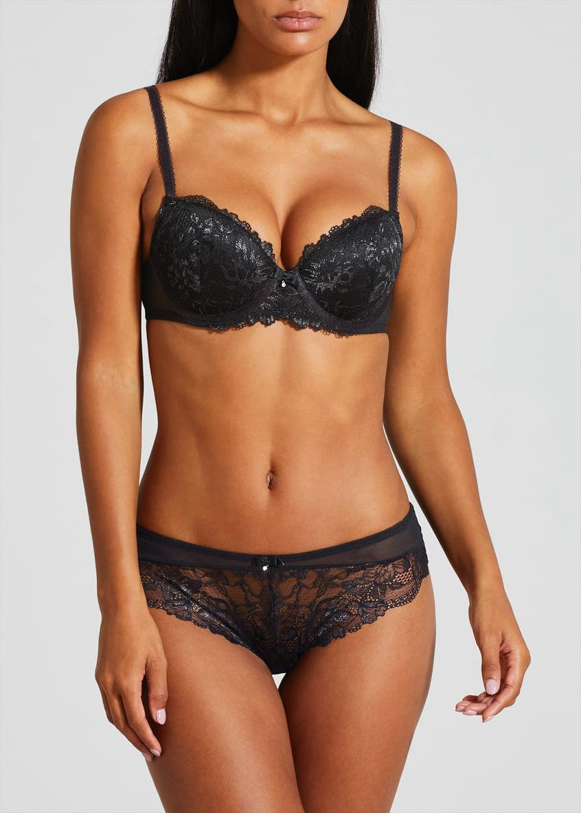 Shimmer Lace T-Shirt Bra
