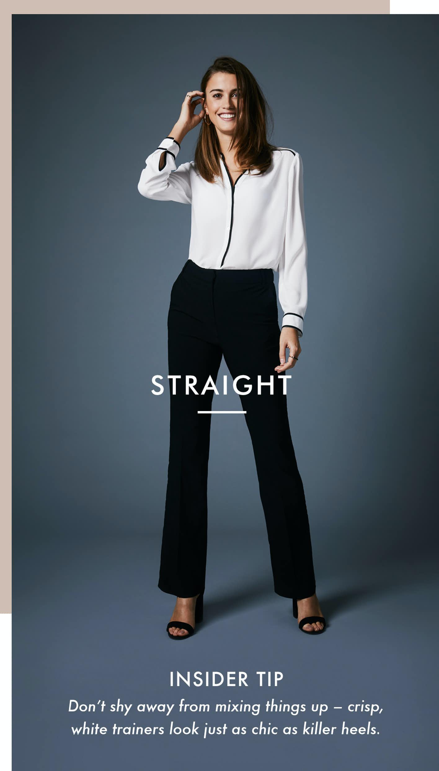 Shop Straight Trousers