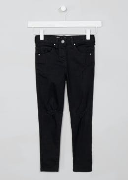 Girls Distressed High Waisted April Jeans (4-13yrs)