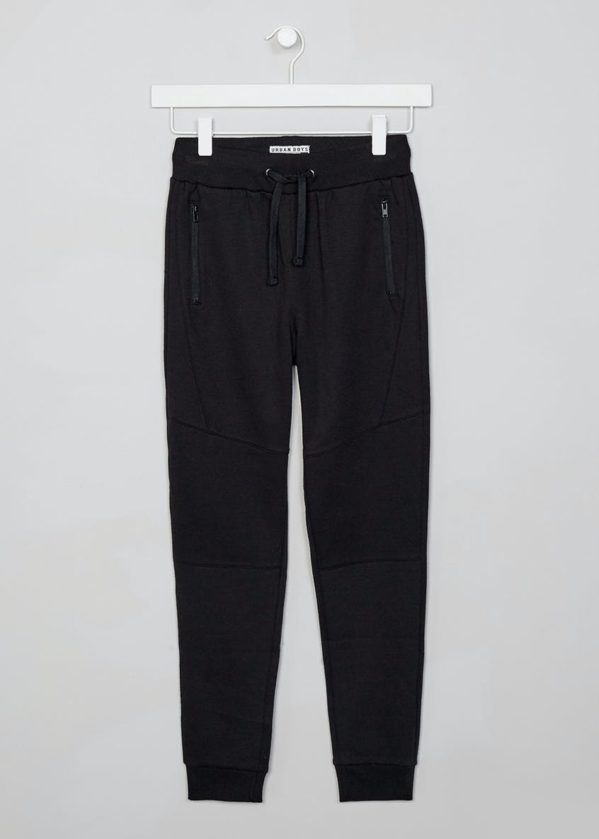 Boys Panelled Skinny Fit Jogging Bottoms (9-16yrs)