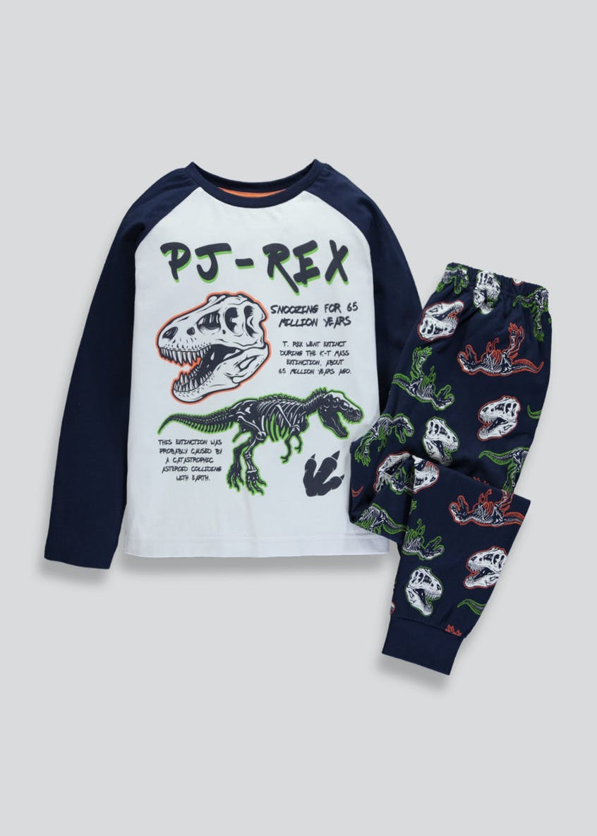 Boys Dinosaur PJ-Rex Pyjama Set (4-13yrs)