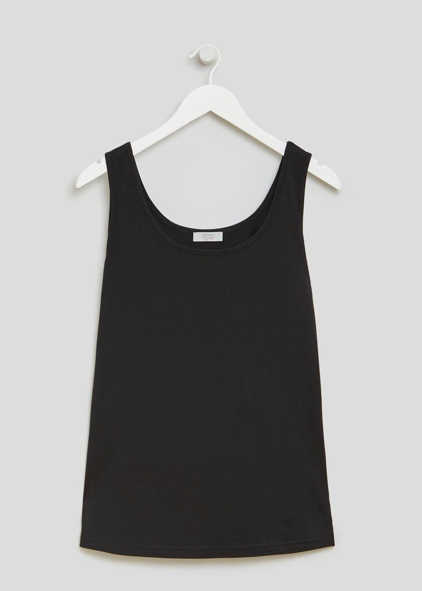 Papaya Curve Basic Short Vest