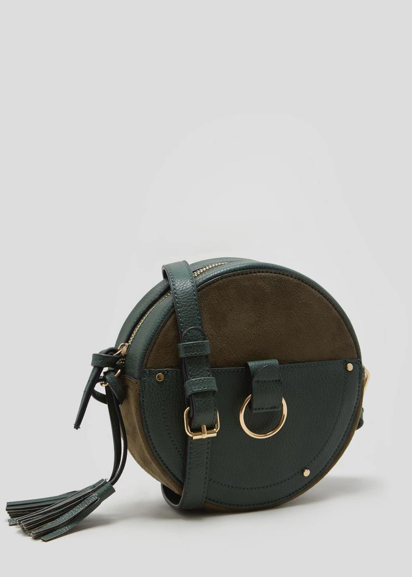 Round Tassel Cross-Body Bag