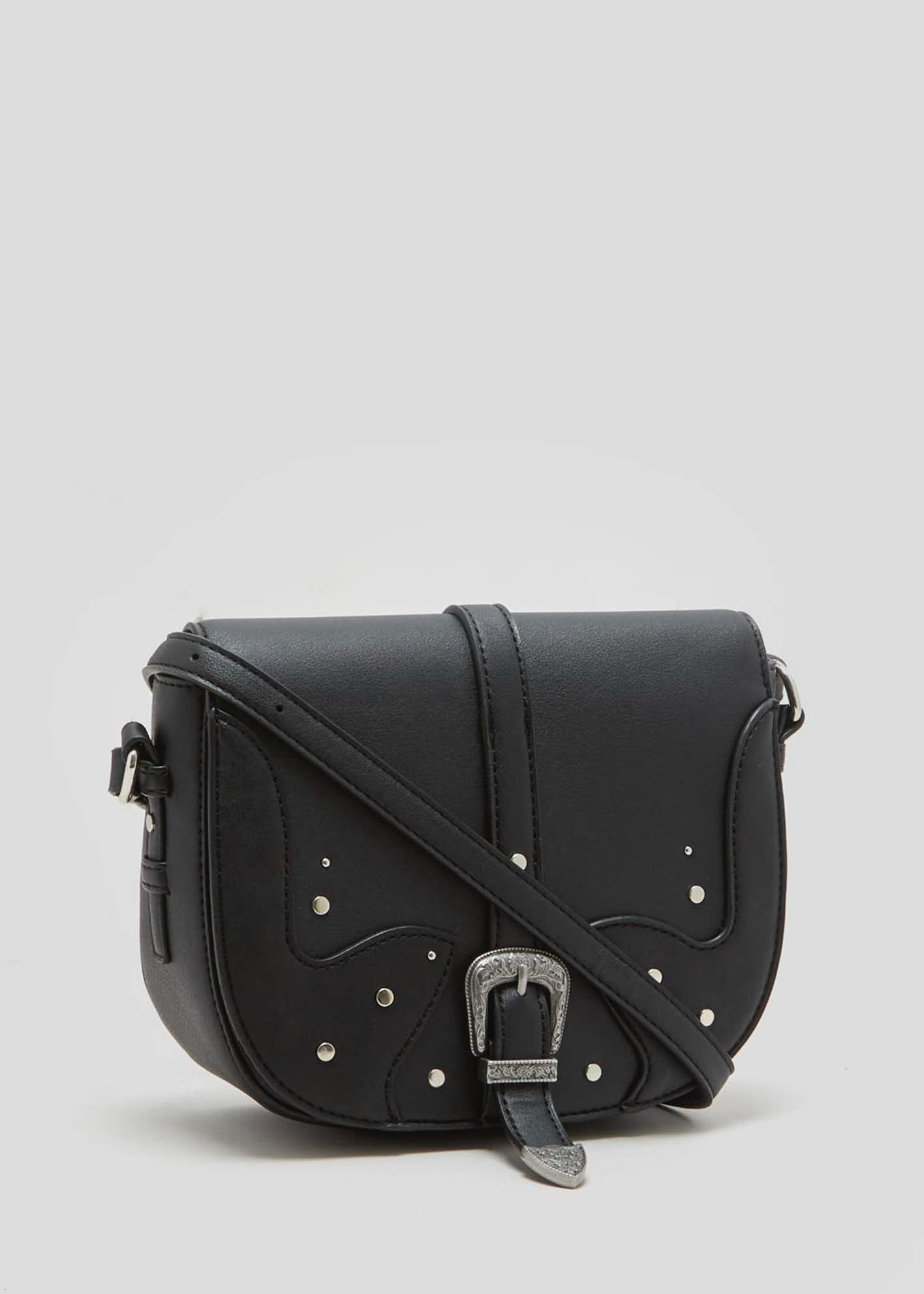 Western Buckle Cross-Body Bag