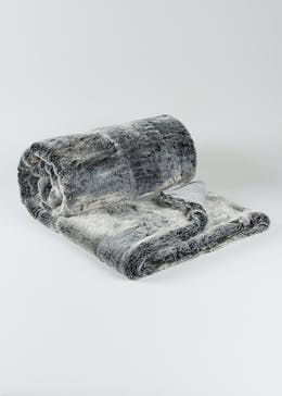 Luxury Faux Fur Throw (180cm x 150cm)