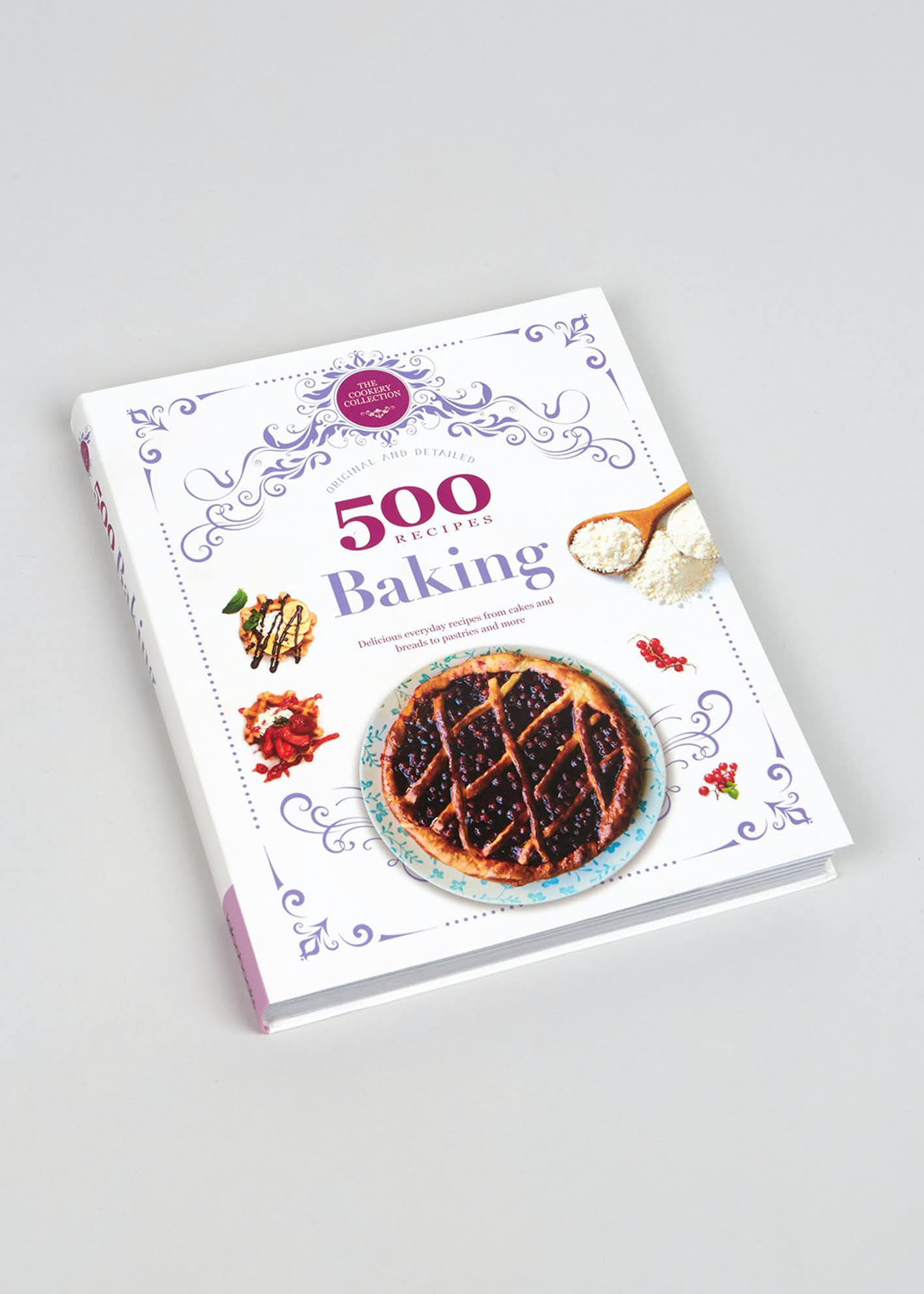 500 Recipes Baking Book