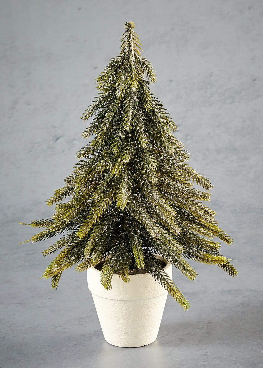 Mini Potted Christmas Tree (26cm)