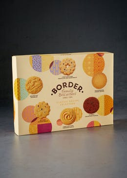 Border Biscuit Box (550g)