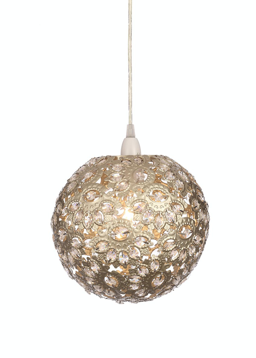 Penelope Ball Easy Fit Lamp Shade (H23cm x W25cm)