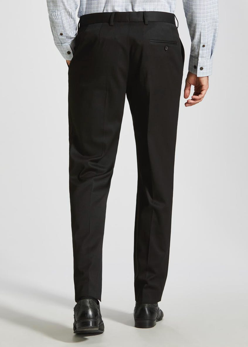 Stretch Slim Fit Suit Trousers