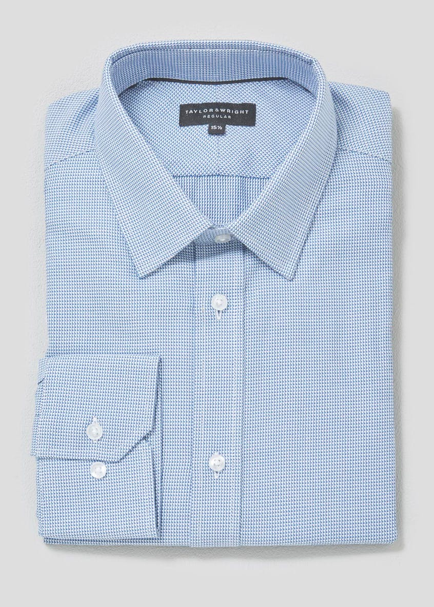 Easy to Iron Cotton Premium Geometric Shirt