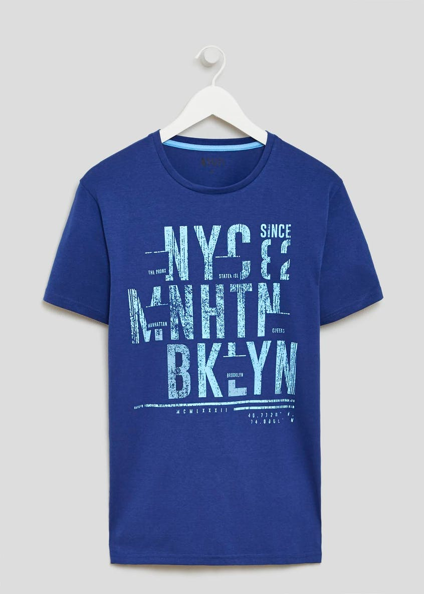 New York Distressed T-Shirt