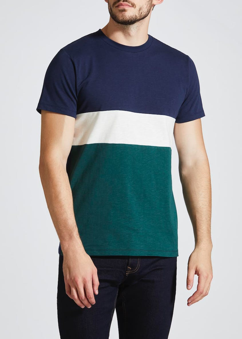 Colour Block Panel T-Shirt