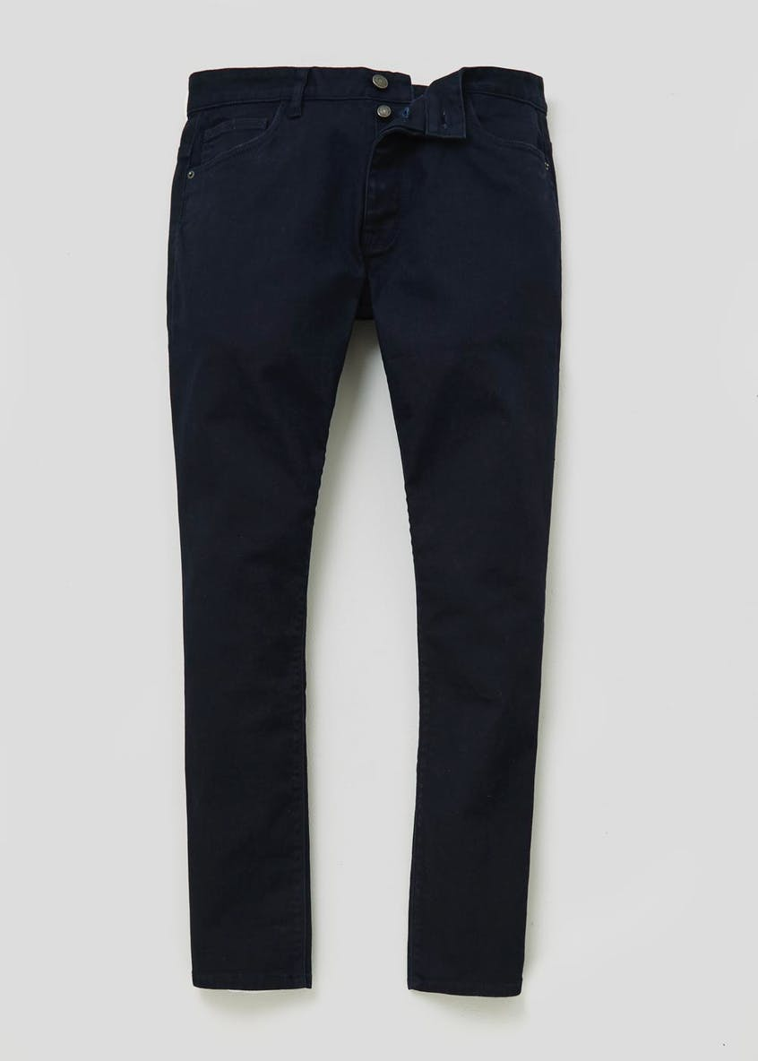 Big & Tall 5 Pocket Stretch Twill Trousers