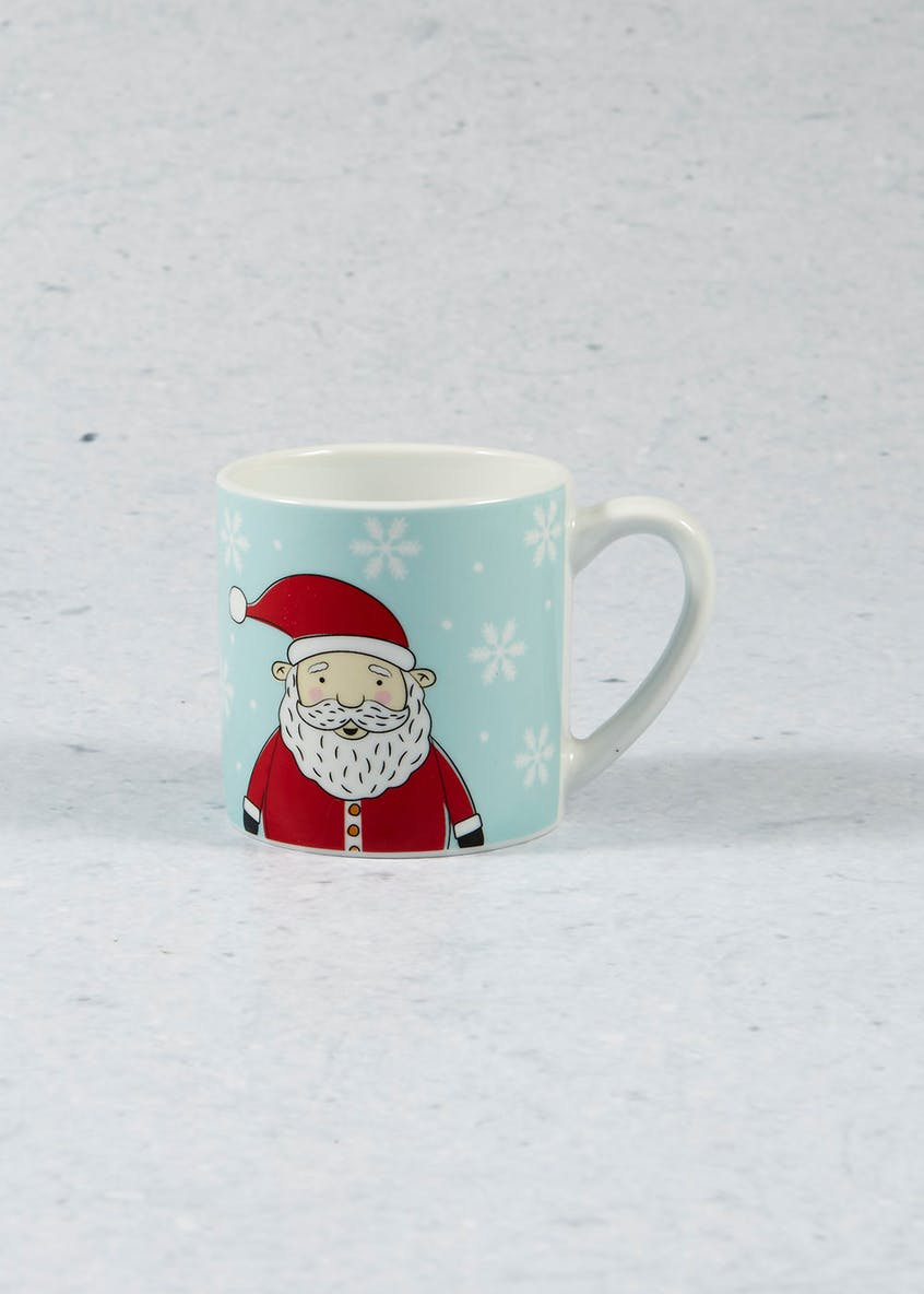 Polar Bear & Penguin Christmas Mug (8cm)