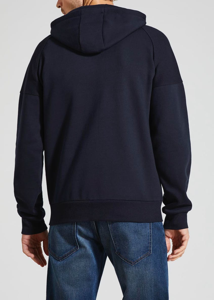 Sporty Panel Hoodie