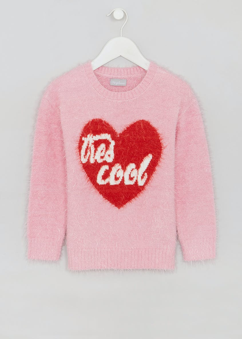 Girls Tres Cool Eyelash Knit Jumper (4-13yrs)