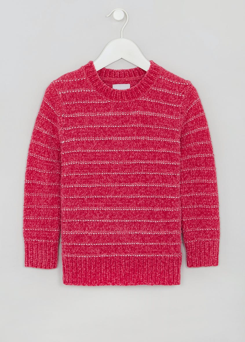 Girls Lurex Chenille Jumper (4-13yrs)